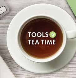 Banner image for Tools @ Tea Time (On Tuesdays with Tim & Ana)